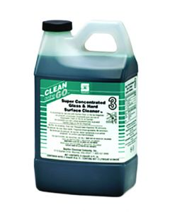 Spartan Glass & Hard Surface Cleaner 3 - 4-2 Liters for Clean-on-the-Go Dispenser