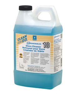 Spartan BioRenewables® Glass Cleaner 18 - 4-2 Liters for Clean-on-the-Go Dispenser