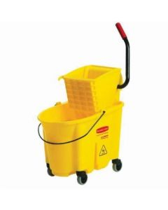 Rubbermaid Wavebrake Mopping Bucket And Wringer Combo Pack
