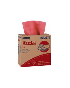 WypAll X80 Cloths - Red