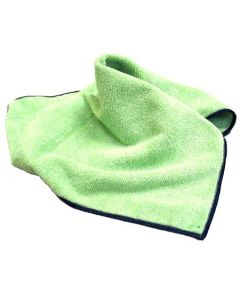 SSS 12x12 General Cleaning Microfiber Cloth - Green